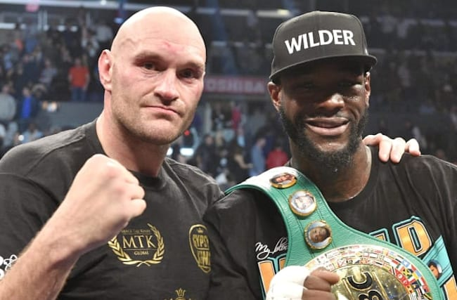 Fury full of respect for Wilder ahead of February rematch