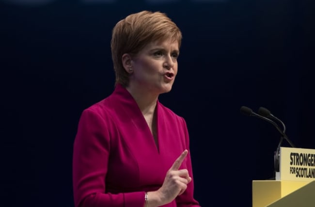 Sturgeon: SNP 'winning the case for independence'