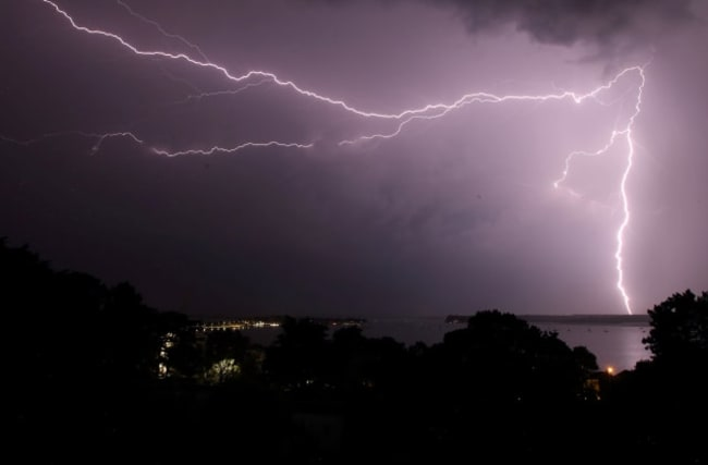 Torrential rain and thunderstorms hit parts of the UK