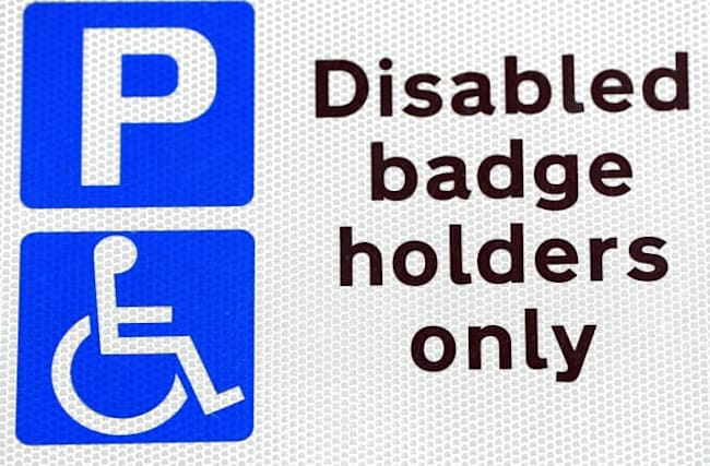 Blue badges rolled out to people with 'invisible' disabilities'