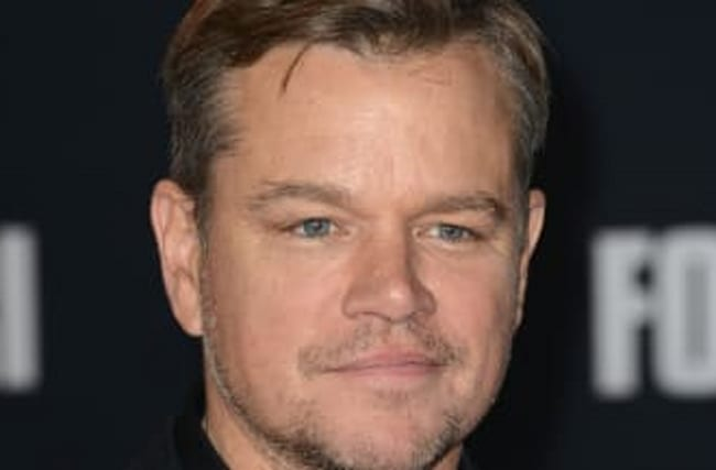 Matt Damon Says Daughter Had COVID But 'Got Through It Fine'