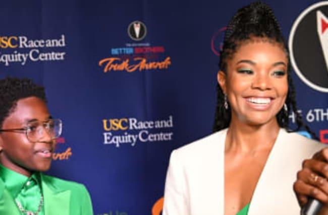 Gabrielle Union Jokes Zaya Wade Doesn't Trust Her With Schoolwork