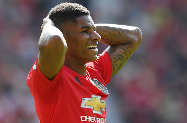 Rashford receives online racist abuse after penalty miss