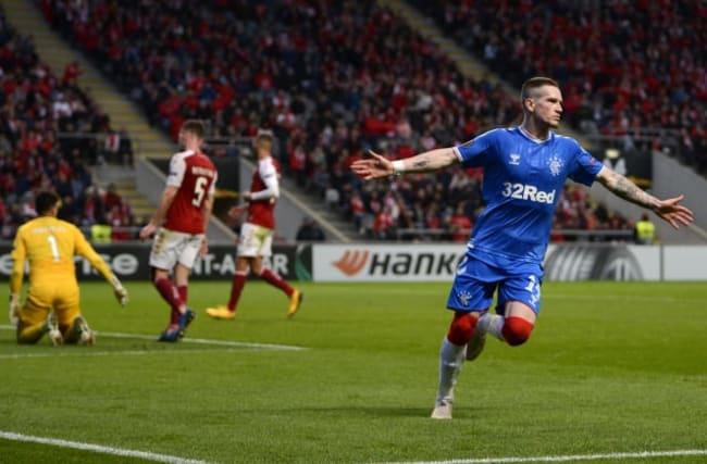 Rangers beat Braga to reach Europa League last 16