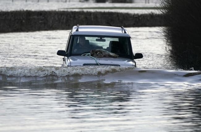 Severe flood warnings in place with heavy rain expected