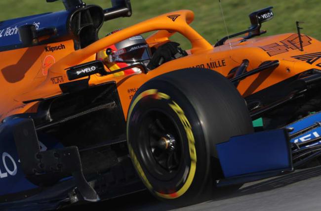 McLaren take coronavirus precautions at Barcelona test