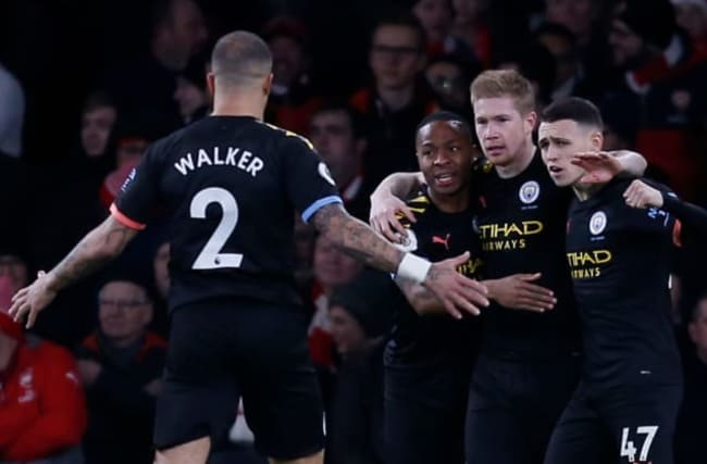 De Bruyne demolishes Gunners at the Emirates