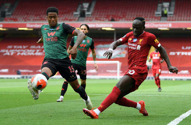 Lacklustre Liverpool overcome Aston Villa at Anfield