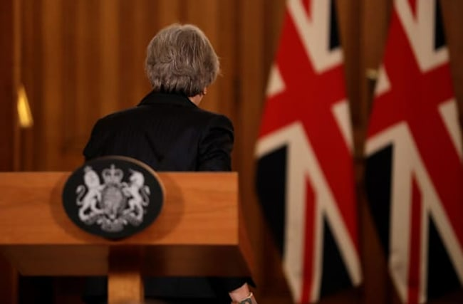 Theresa May's legacy will be defined by Brexit failure