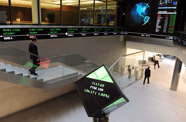 London markets in freefall as FTSE 100 hits 13-month low