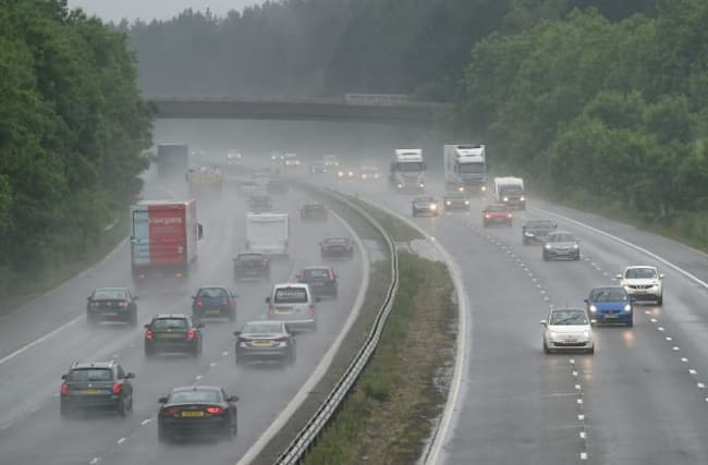 'Unsettled' week ahead with rain to continue across UK