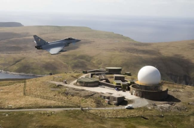 RAF jets respond to suspected Russian aircraft