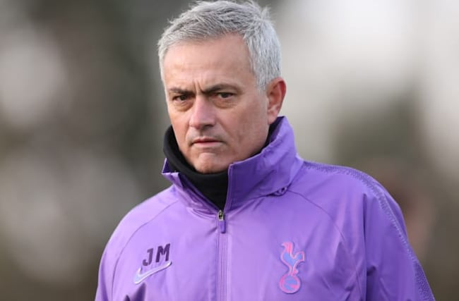 Jose Mourinho vows to take Tottenham up the table