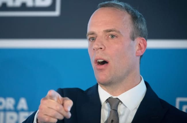 Raab: Tories will be 'toast' if they do not deliver on Brexit