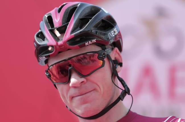 Chris Froome among riders to be tested for coronavirus