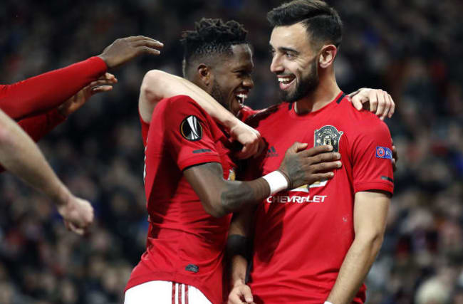 Fernandes and Ighalo shine as Man Utd hammer Brugge