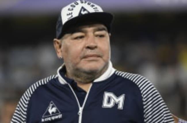 Diego Maradona in Corona-Isolation