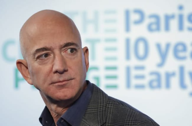 Amazon boss Bezos commits $10bn to fight climate change