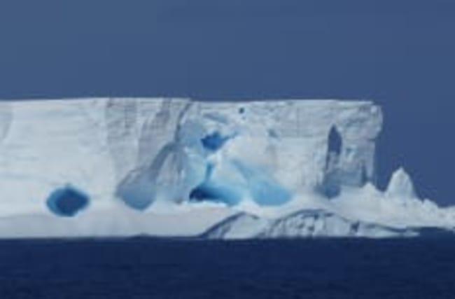 Mysteriöses Google-Maps-Bild aus der Antarktis