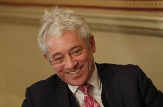 Labour 'putting John Bercow forward for a peerage'