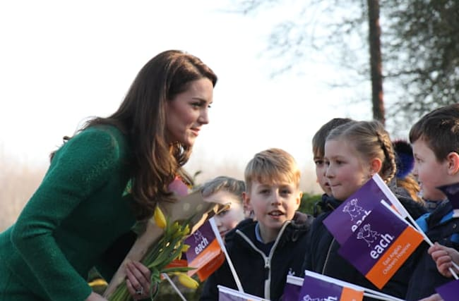 Kate writes 'heart-warming' letter for Children's Hospice Week