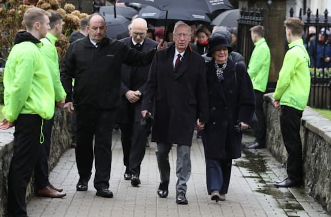 Manchester United greats gather for Harry Gregg funeral