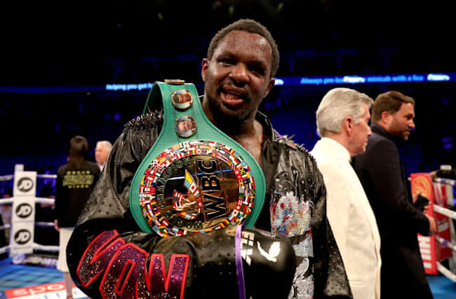 Dillian Whyte recovers from knockdown to win at the O2