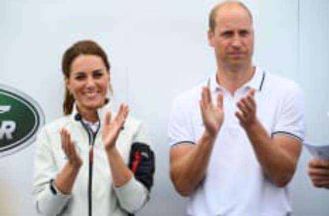 Diss gegen Harry und Meghan? Will und Kate fliegen Linie