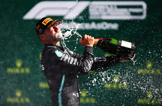 Bottas clinches victory in Formula One season opener
