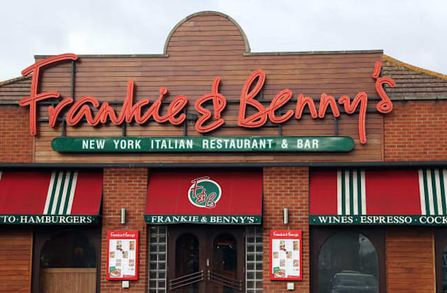 Frankie and Benny's owner to close up to 120 restaurants