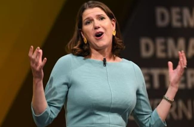 Swinson emotional as she makes pitch to be next PM