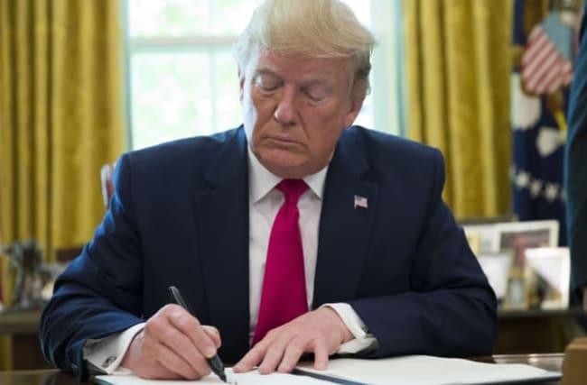 Trump orders new sanctions against Iran's supreme leader