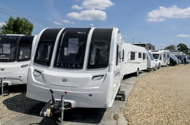 Caravan advert views up ahead of expected staycation boom