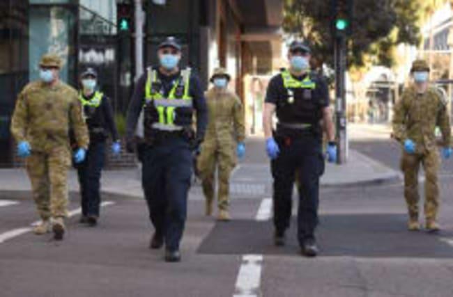 Melbourne geht in den Lockdown