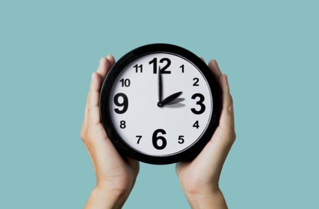 Don't forget - the clocks go forward this weekend