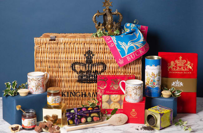 Luxury Christmas hampers go on sale on Royal Collection website