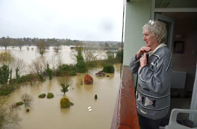 Environment Agency boss claims flood defences work
