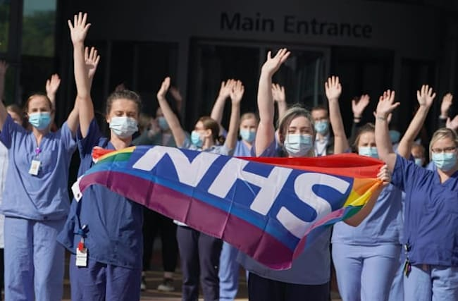 In pictures: Clap celebrates 72nd anniversary of NHS