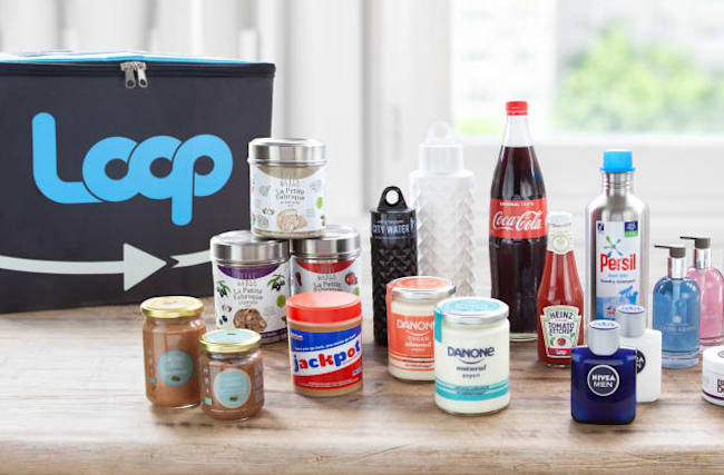 Zero-waste shopping service Loop launched with Tesco