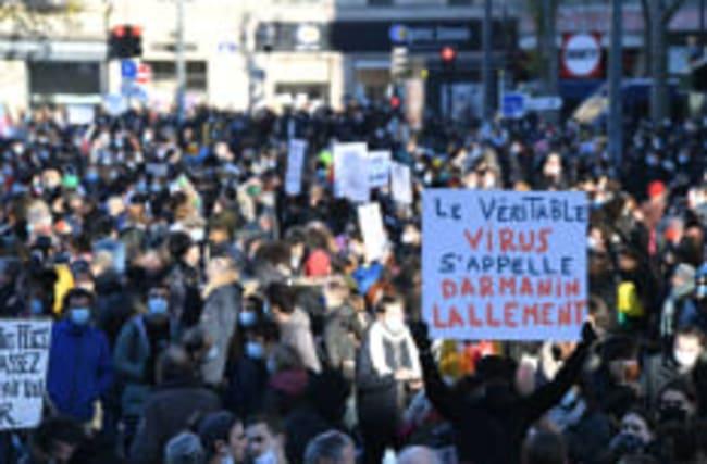 Frankreich: Proteste gegen Sicherheitsgesetz