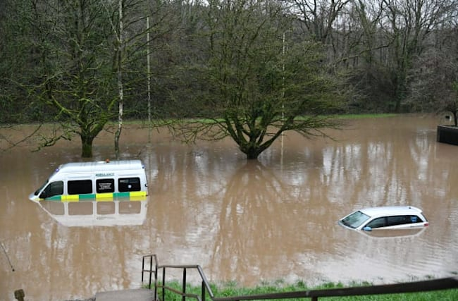 Major incident declared in South Wales after Storm Dennis