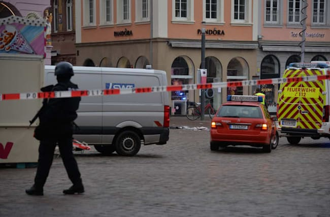 Four killed, including baby, as car ploughs into pedestrian zone in Germany