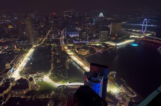 Poor air quality could hamper Singapore Grand Prix