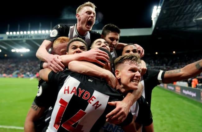 Hayden header nicks Newcastle win over Chelsea