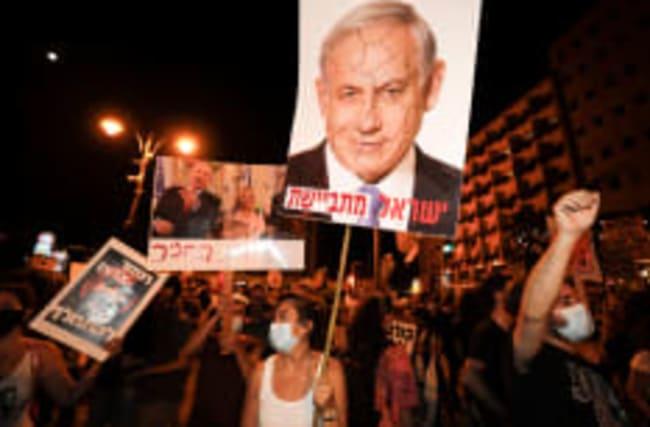 Neue Proteste gegen Israels Staatschef