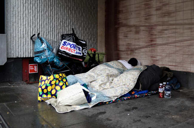 Johnson: Number of rough sleepers is 'way too high'
