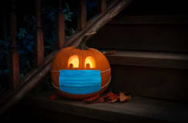 Perfekte Distanz-Lösung für Halloween