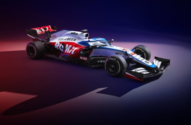Williams vow to fight for points in new FW43 car