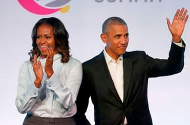Barack And Michelle Obama To Produce Podcasts For Spotify