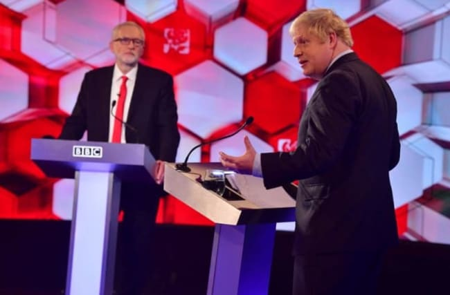 Johnson and Corbyn trade accusations in debate